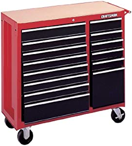 Amazon.com: Craftsman 9-65921 Red 14 Drawer 40-Inch Combo Cabinet
