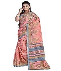 SB Creations Women's Turcky Silk Saree (SB_104_Multi)