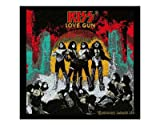 KISS Official Merchandise Product Sew-On-Patch New LOVE GUN