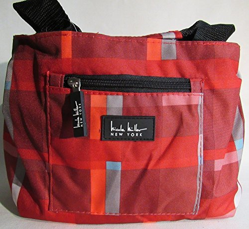 nicole-miller-of-new-york-insulated-lunch-cooler-old-school-red-11-lunch-tote-by-nicole-miller