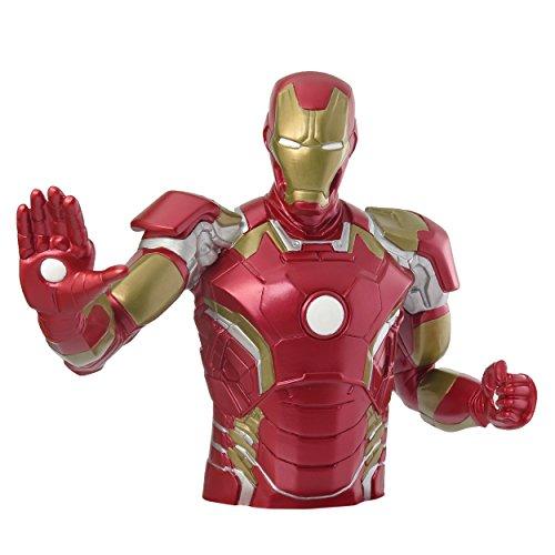 Avengers Age Of Ultron Coin Salvadanaio Bank Iron Man 20 Cm Monogram Int.
