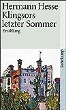 Klingsors letzter Sommer: Erzählung (suhrkamp taschenbuch)