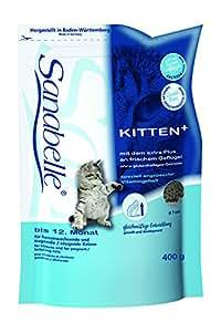 Sanabelle Kitten Katzenfutter, 6er Pack (6 x 400 g)
