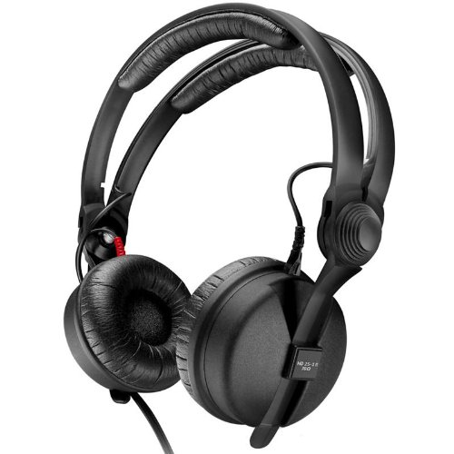 Sennheiser HD 25-13 II, Closed-Back Headphones Ideal For ENG  &  Professional Monitoring, 600 Ohms