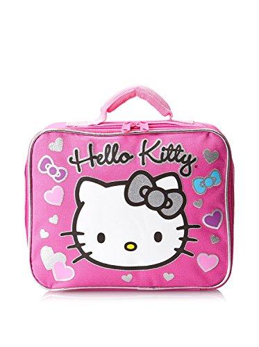 Hello Kitty Pink Rectangular Lunch Box - 1