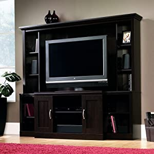 Amazon.com - Sauder Home Theater Entertainment Center Cinnamon