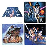 Star Wars Set Of 4 Coasters Boxed Officially Licensed