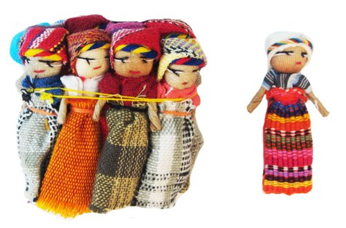 Worry Doll 2 Inch Size - One Dozen