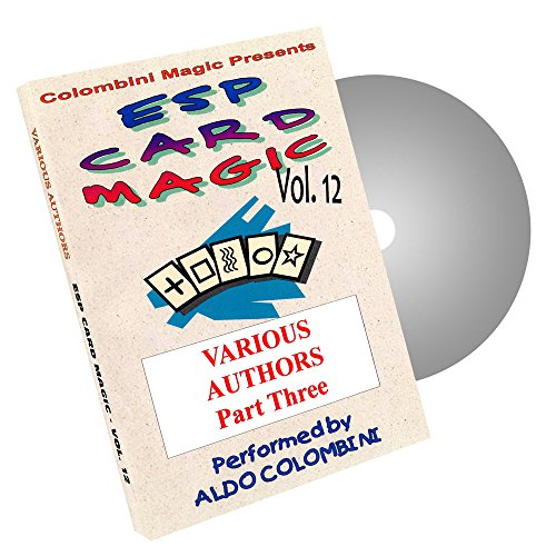 MMS ESP Card Magic (Various) Vol. 12 by Aldo Colombini - DVD