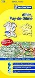 Michelin-Map-France-Allier-Puy-de-Dme-326-Michelin-Local-Maps