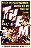 Them 1954 Vintage Horror Movie Poster Art 24x36