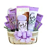 California Delicious Gift Basket, Lavender Spa