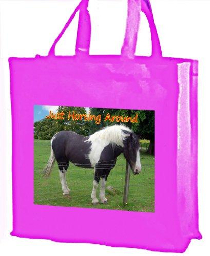 clarificador-de-caballo-algodon-bolsa-de-la-compra-rosa