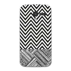 Designer Cute Phone Cover / Case for Moto X - Zigzag Lines