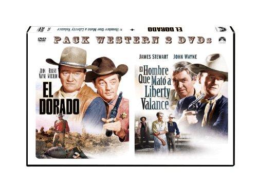 Pack Duo Horizontal: El Hombre Que Mató A Liberty Valance + El Dorado [DVD]