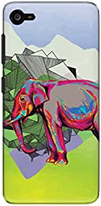 The Racoon Lean printed designer hard back mobile phone case cover for Lenovo Z2 Plus. (Elephant D)