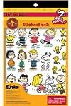 Eureka Peanuts Sticker Book by Eureka...