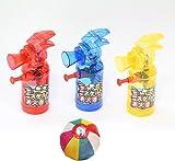 【水鉄砲】スケルトン消火器ウォーターガン  25入 / お楽しみグッズ(紙風船)付きセット [おもちゃ&ホビー]