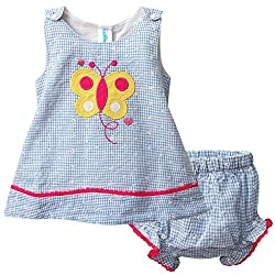 Snuggles Baby Snuggles Top With Bloomer (Bp10037287 -Blue -12-18 Months)
