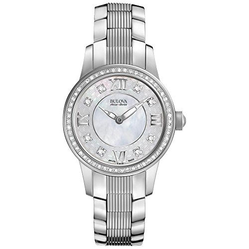 Ladies' Bulova Accuswiss Masella Diamond Watch