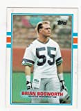 Brian Bosworth Seattle Seahawks (Football Card) 1989 Topps #192 at Amazon.com