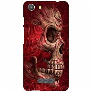 Micromax Unite 3 Q372 Back Cover - Silicon Fear Designer Cases