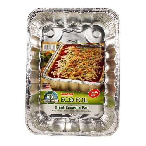 Handi-Foil Giant Lasagna Pan - 13 Inch, 2 Pack