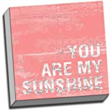 """""""You Are My Sunshine Quote Wall Decoration Art Image Printed on Canvas Stretched and Framed Ready to Hang from Picture it on Canvas"""