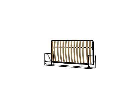 Letto a Scomparsa - Orizzontale singolo 200cm x 90cm ( Letto Estraibile, letto ribaltabile, letto a muro )