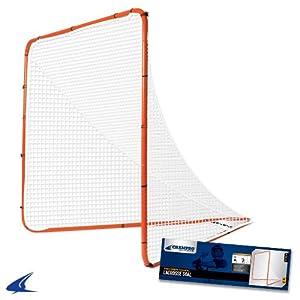 Buy Champro Recreation Lacrosse Goal (Orange, Medium) by Champro