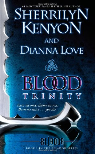 Cover of Blood Trinity: Book 1 in the Belador Series