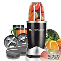 Nutri Bullet NBR-12 12-Piece Hi-Speed Blender/Mixer System, Black by Homeland Housewares