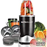 Nutri Bullet NBR-12 12-Piece Hi-Speed Blender/Mixer System, Black