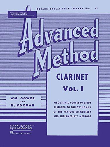 Rubank Advanced Method - Clarinet Vol. 1