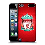 Official Liverpool FC LFC Red Pixel 1 LFC Crest 2 Hard Back Case Cover for Apple iPod Touch 5G 5th Gen / 6G 6th Gen