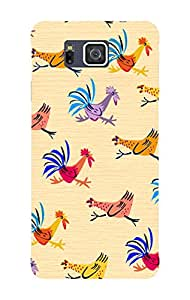 BlueAdda Back Cover for Samsung Galaxy Alpha
