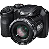 "FinePix S4600 16MP Compact Camera 26X Optical Zoom 3"" LCD (Black)"