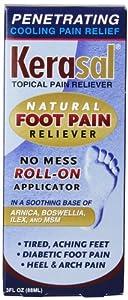 Kerasal Foot Pain Roll-On, 3 Ounce