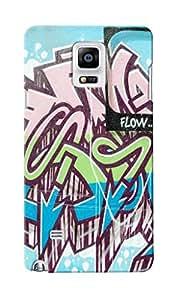 CimaCase Cash Flow Designer 3D Printed Case Cover For Samsung Galaxy Note 4