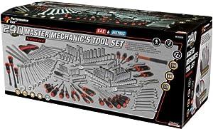Performance Tool W30500 Master Mechanic's Tool Set (240 Pieces) - Hand
