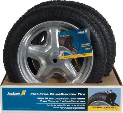 Ames Jackson SFFTCC 5-Spoke Design Wheelbarrow Flat-Free Sport Tire (Wheelbarrow Dual Wheel compare prices)