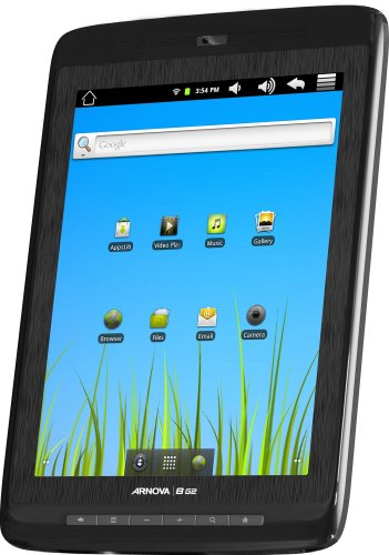 Archos Arnova 8 inch Tablet (4GB Memory, Android 2.3 Gingerbread, 800 x 600 Screen Resolution, WiFi, Built-in Front Camera, Speaker and Microphone)