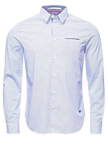 Freeman T. Porter -  Camicia Casual  - Uomo blu XL