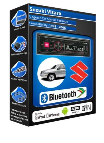 Suzuki Vitara autoradio Alpine UTE 72BT-kit mains libres Bluetooth pour autoradio stéréo