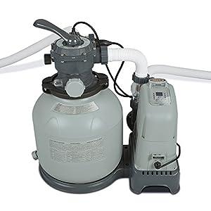 Intex 28675eg 1600 Gph Saltwater System Sand Filter Pump