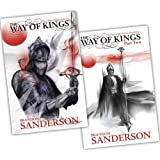 Brandon Sanderson The Stormlight Archive 2 Books Collection Pack Set RRP: �30.93 (The Way of Kings Part 1 , The Way of Kings Part 2)by Brandon Sanderson