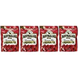 Wiley Wallaby Australian Goumet Style Red Licorice Candy 10 Oz. (Pack of 4)