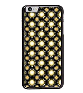 Fuson Premium 2D Back Case Cover Polka dots pattern With red Background Degined For Apple iPhone 6S Plus