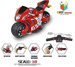 Toys Bhoomi Ultra Fast 4D Moto 2.4Ghz 1:8 Scale Gravity Sensor Handlebar Remote Control Bike