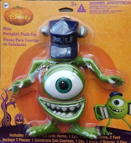 Disney Monsters INC Mike Wazowski Halloween Decoration Pumpkin Push-in by Disney